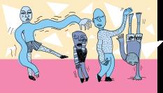 Dancers adobe ilustrator