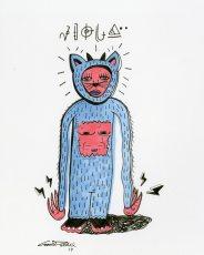 Feefu Beeju character drawing