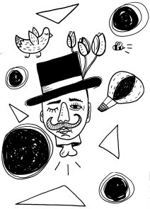 Magician adobe illustrator