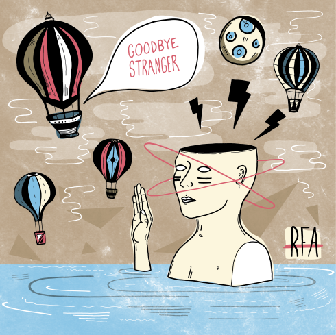 Goodbye Stranger single by RFA
