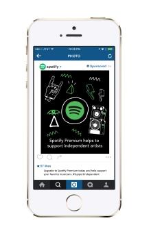 Spotify Instagram