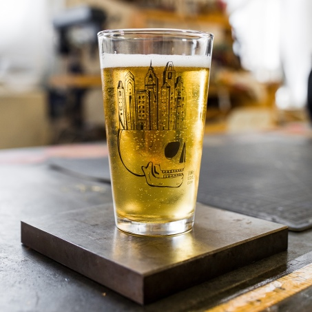 Philly Beer Glass