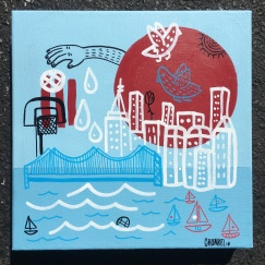 "NYC | 10"" x ""10 