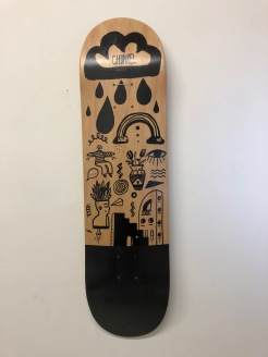 Hand-painted Skateboard