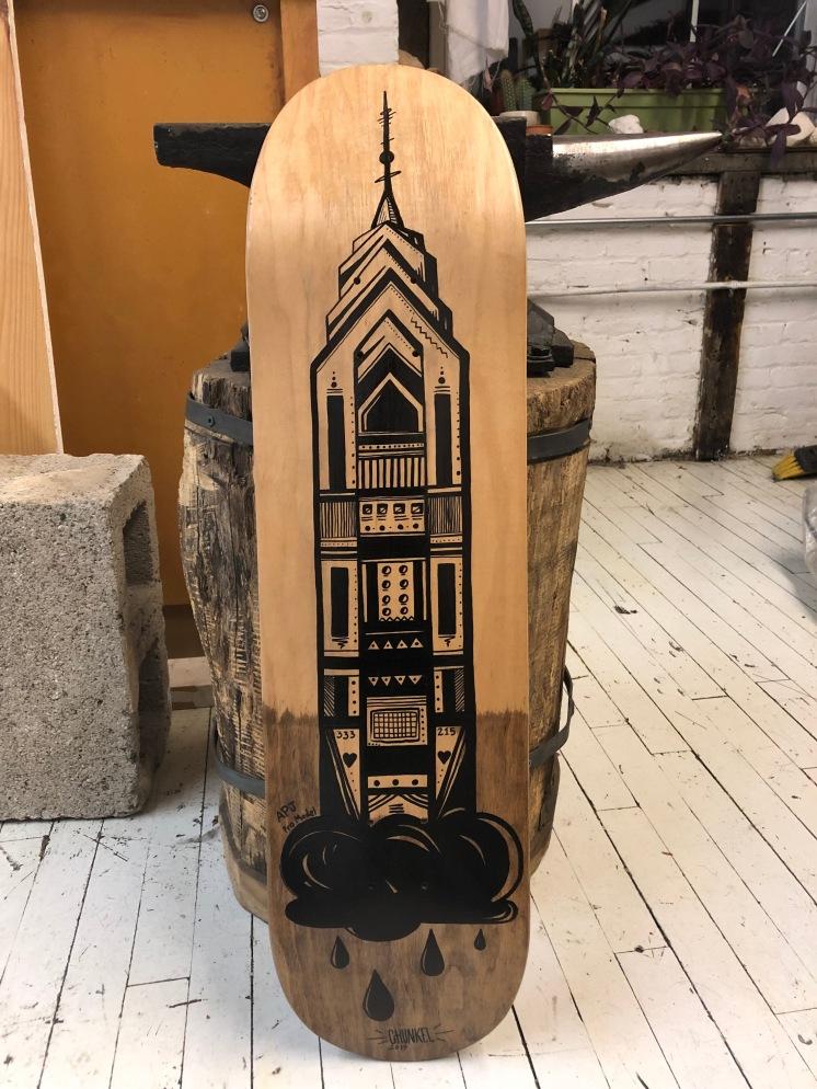 One Liberty Phila. Skateboard