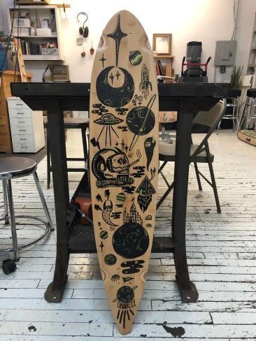 Space Longboard