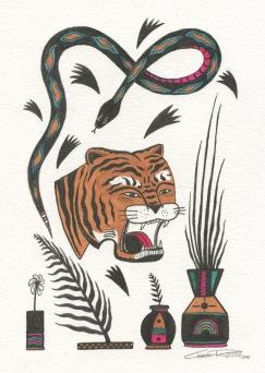 TigerSnakePlants5x7 1
